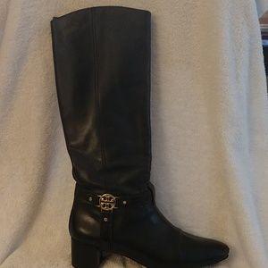 Tory Burch Tall Black Boots